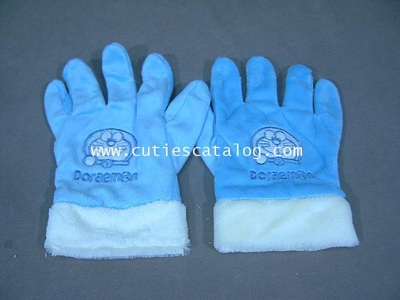 ถุงมือโดเรมอน Doraemon glove แแบบ 1