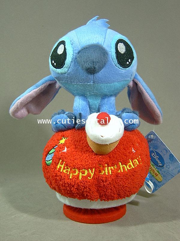 ตุ๊กตาสติช กล่องดนตรี ถิอขนมเค็ก(Stitch Doll and Music)