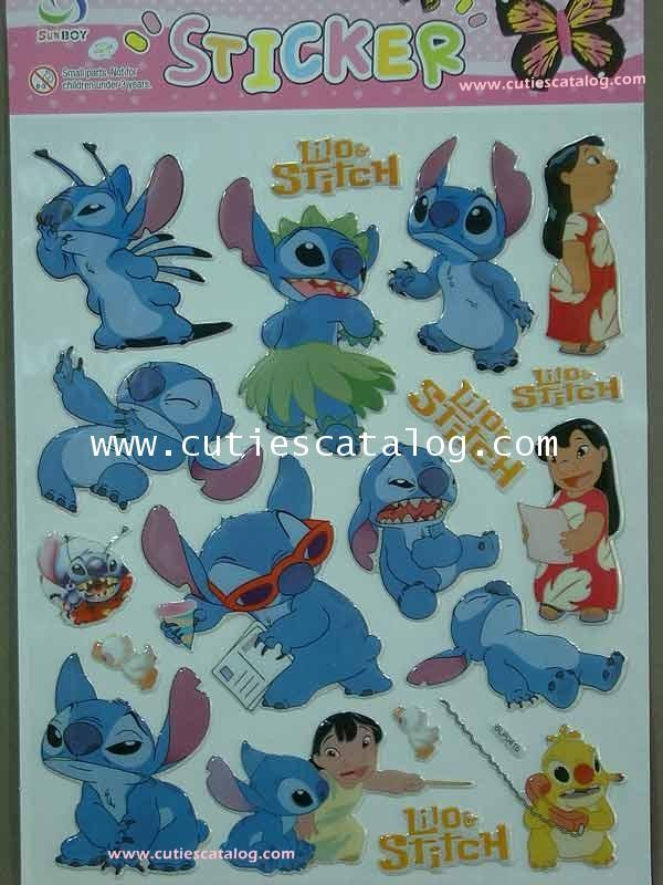 สติ๊กเกอร์สติช Stitch sticker แบบ 1