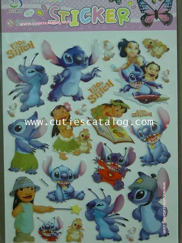 สติ๊กเกอร์สติช Stitch sticker แบบ 2