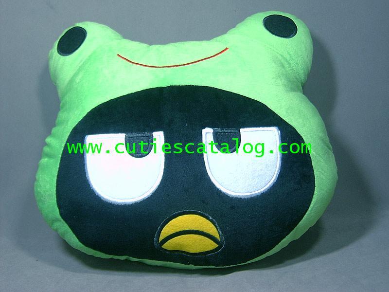 หมอนอิง/พิงแบด แบดซ์-มารุ ใส่ชุดกบ เคโระ Bad Badzt-maru cushion