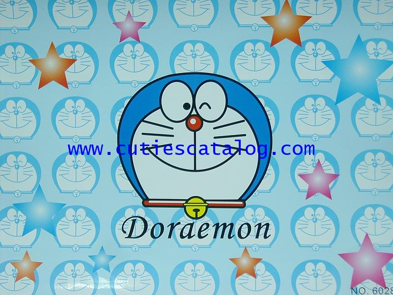 สติ๊กเกอร์ติดโน๊ตบุ๊คลายโดเรมอน Doraemon แบบ 1