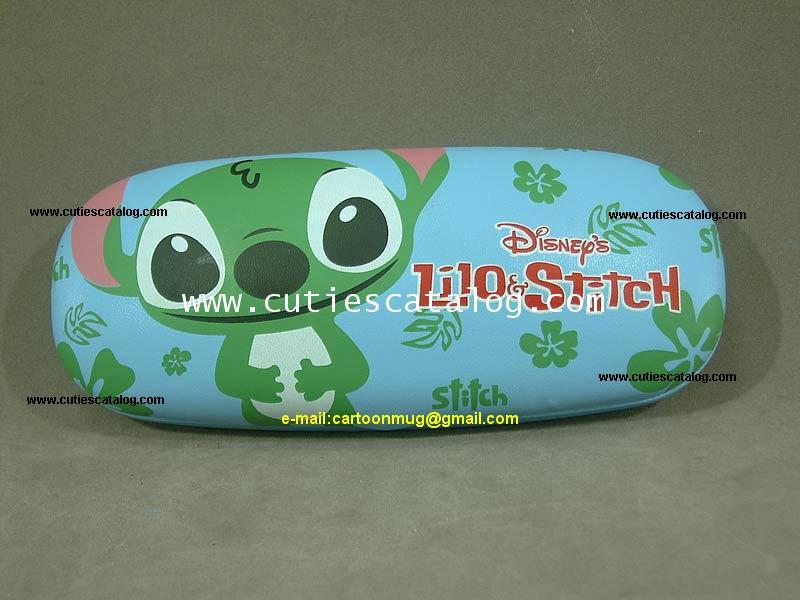 กล่องใส่แว่นตาสติช Stitch sunglasses box