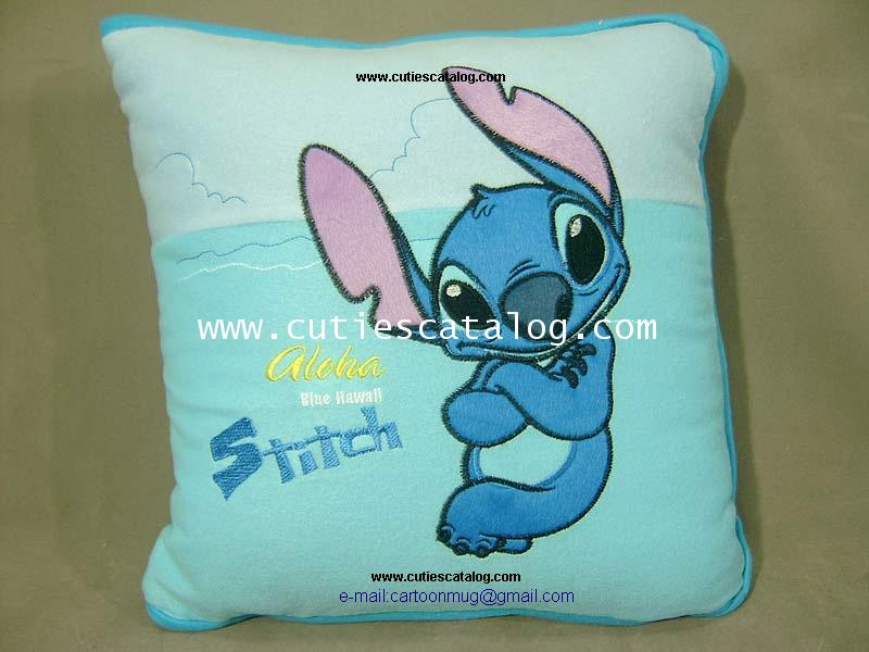 หมอนผ้าห่มสติช (Stitch blanket ) แบบ 1