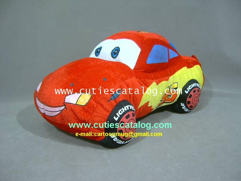 ตุ๊กตาคาร์ @ รถแมคควีน จากเรื่องคาร์Lighting Mcqueen @ Cars ขนาด S