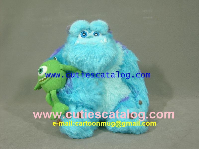 ตุ๊กตาซัลลี่ และไมค์ @ มอนเตอร์ อิงค์ Sully  Mike @ Monster Inc ขนาด M