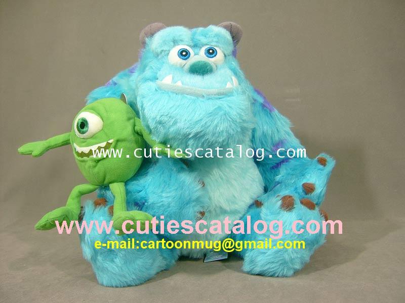 ตุ๊กตาซัลลี่ และไมค์ @ มอนเตอร์ อิงค์ Sully Mike @ Monster Inc ขนาด L