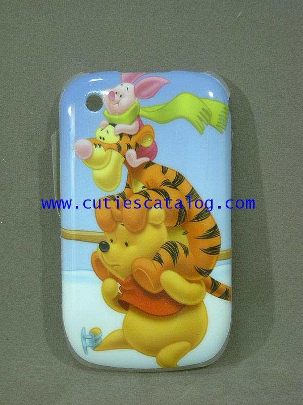 กรอบ บี บีลายหมีพูห์ Pooh Blackberry case/cover (หน้ากาก/เคส บีบี) แบบ 3