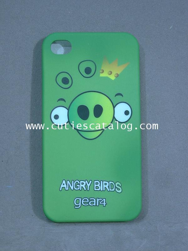 เคสไอโฟน 4 ลายหมูสุดฮิต Angry birds Iphone 4 case (หน้ากาก/กรอบไอโฟน) อังกรีย์ เบิร์ดแบบ 4