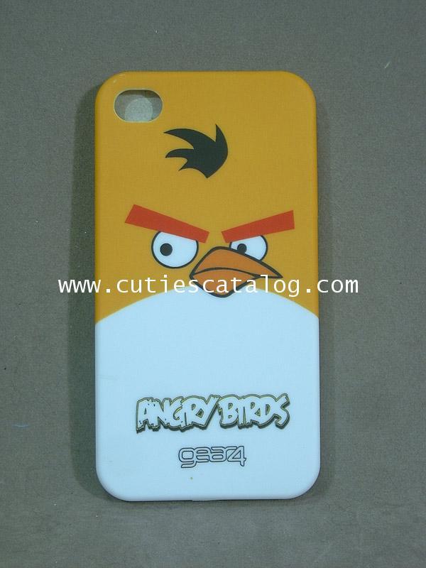 เคสไอโฟน 4 ลายแองกรีย์ เบิร์ด Angry birds Iphone 4 case(หน้ากาก/กรอบไอโฟน) แบบ 3
