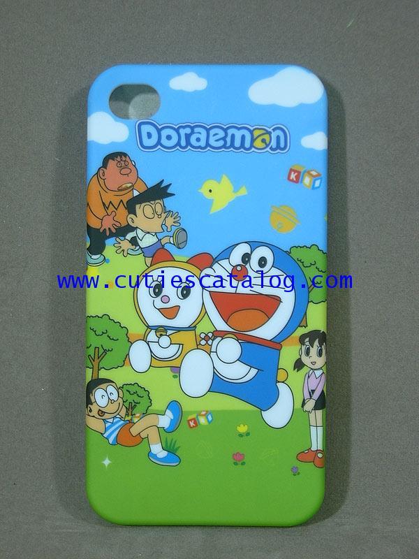 กรอบไอโฟน 4g ลายโดเรมอน Doraemon Iphone case (หน้ากาก/เคส ไอโฟน) 4g แบบ 2