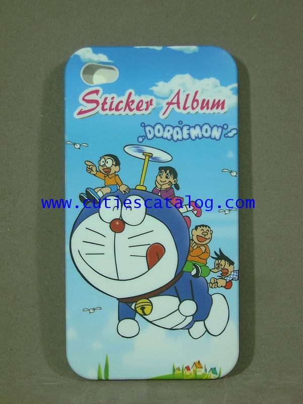 กรอบไอโฟน 4g ลายโดเรมอน Doraemon Iphone case (หน้ากาก/เคส ไอโฟน) 4g แบบ 3