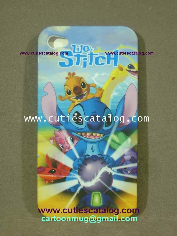 กรอบไอโฟน 4g ลายสติช Stitch Iphone case (หน้ากาก/เคส ไอโฟน) 4g แบบ 3