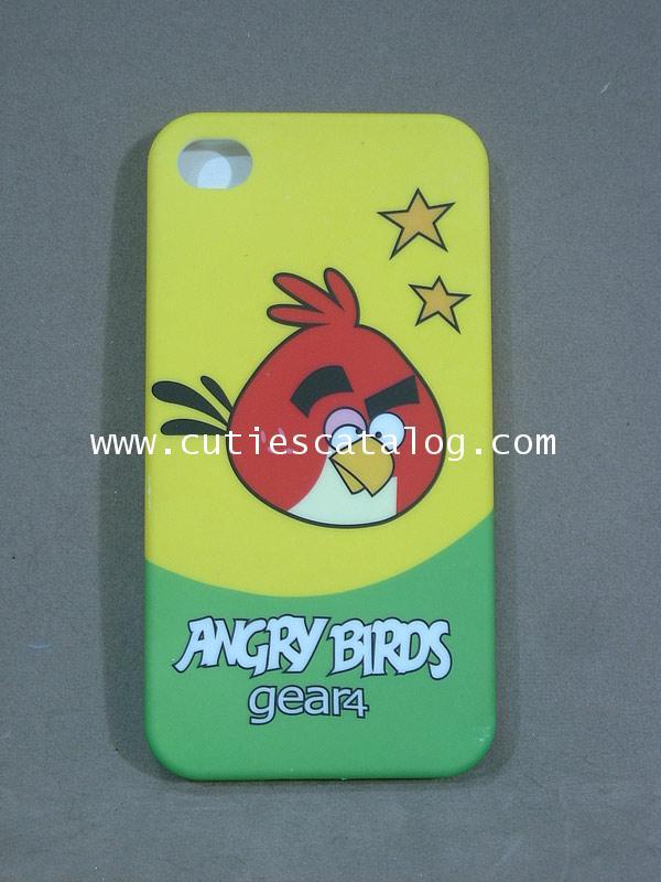 เคสไอโฟน 4 ลายแองกรีย์ เบิร์ด Angry birds Iphone 4 case(หน้ากาก/กรอบไอโฟน) แบบ 2