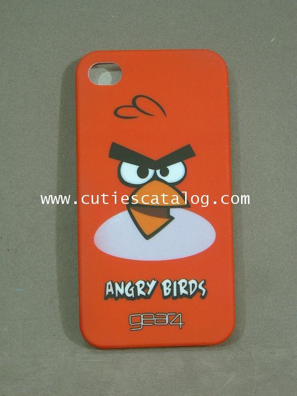 เคสไอโฟน 4 ลายแองกรีย์ เบิร์ด Angry birds Iphone 4 case(หน้ากาก/กรอบไอโฟน) แบบ 1