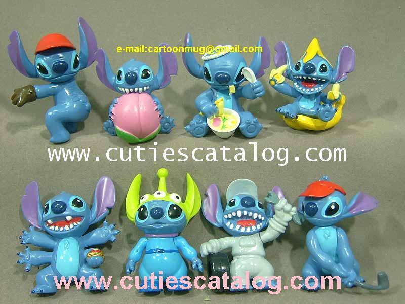 โมเดลสติช Stitch model แบบ 1