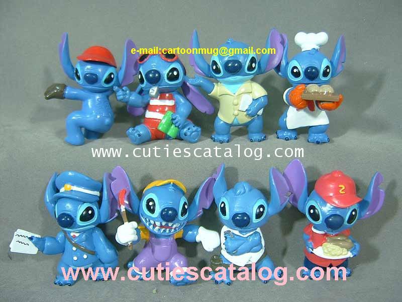 โมเดลสติช Stitch model แบบ 2