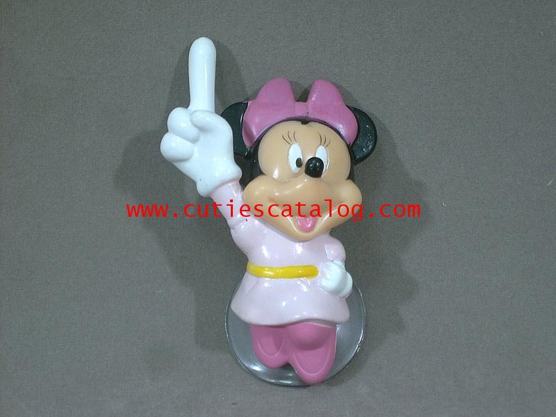 ตุ๊กตามินนี่ เมาส์เสียบเสาอากาศรถยนต์/ติดกระจก Minnie mouse