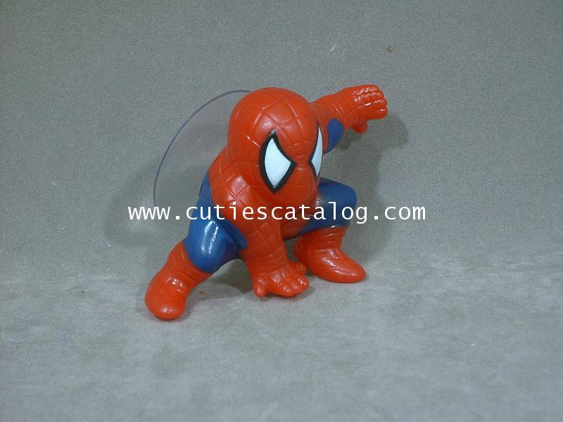 ตุ๊กตาสไปเดอร์แมนเสียบเสาอากาศรถยนต์/ติดกระจก Spiderman แบบ 2