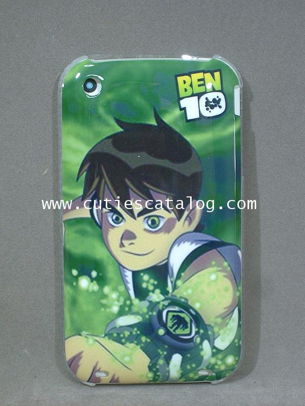 กรอบไอโฟน3g/3gs ลายเบนเท็น Ben 10 IPhone case 3g/3gs(หน้ากาก/เคส ไอโฟน)