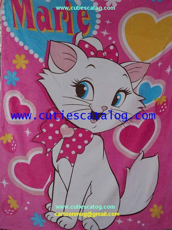 ผ้าห่มแมวมาลี / แมรี่ Marie Blanket