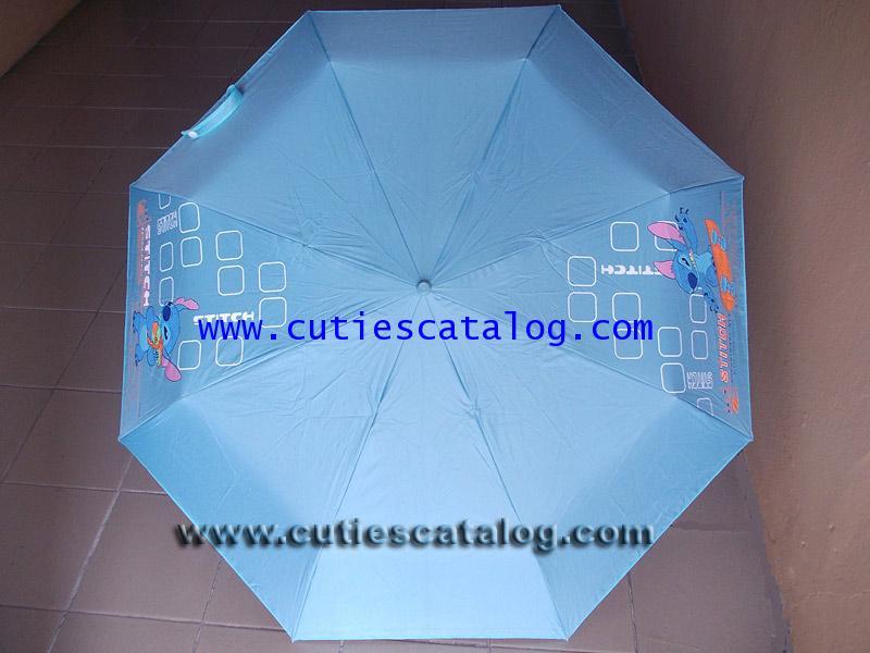 ร่มลายสติช Stitch umbrella แบบที่ 10 สีฟ้า