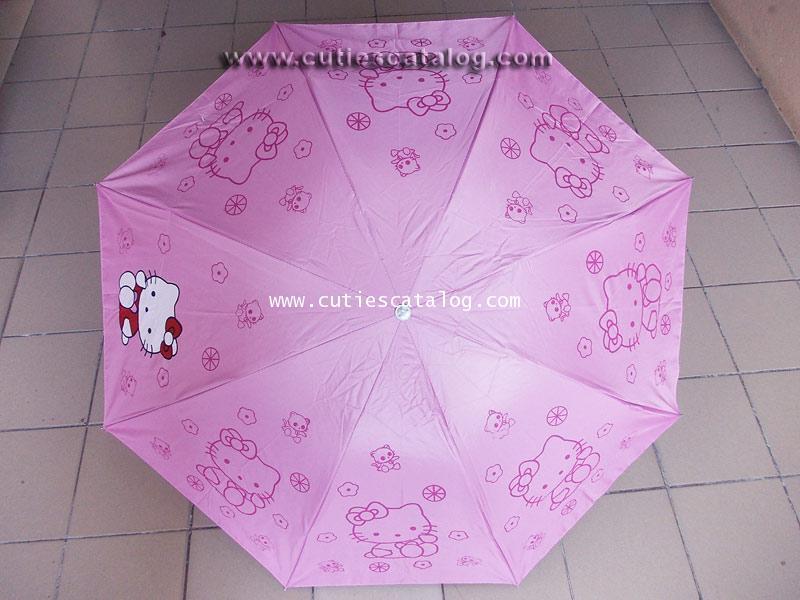 ร่มคิตตี้ แบบที่ 1 Kitty umbrella