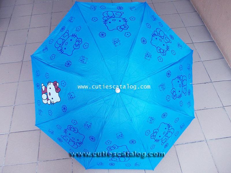 ร่มคิตตี้ แบบที่ 2 Kitty umbrella