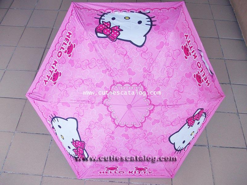 ร่มคิตตี้ แบบที่ 3 Kitty umbrella