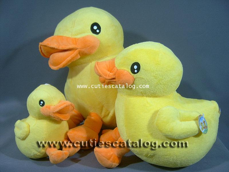 ตุ๊กตาเป็ดน้อย บี ดั๊ค B.Duck ขนาด S