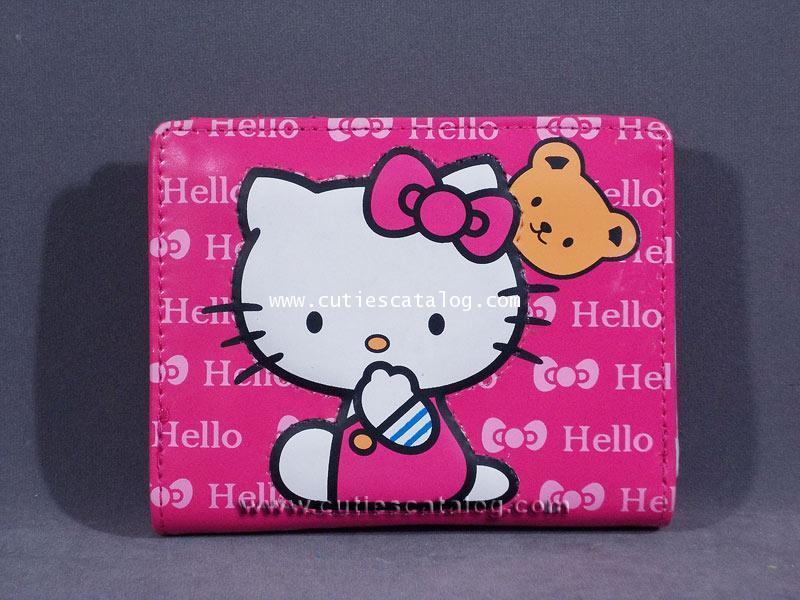 กระเป๋าสตางค์คิตตี้ Hello Kitty wallet แบบที่ 3
