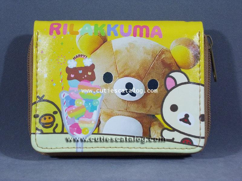 กระเป๋าสตางค์ริลัคคุมะ Rilukkuma wallet แบบที่ 3