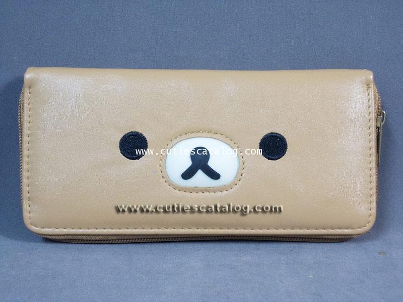 กระเป๋าสตางค์ริลัคคุมะ Rilukkuma wallet แบบที่ 13
