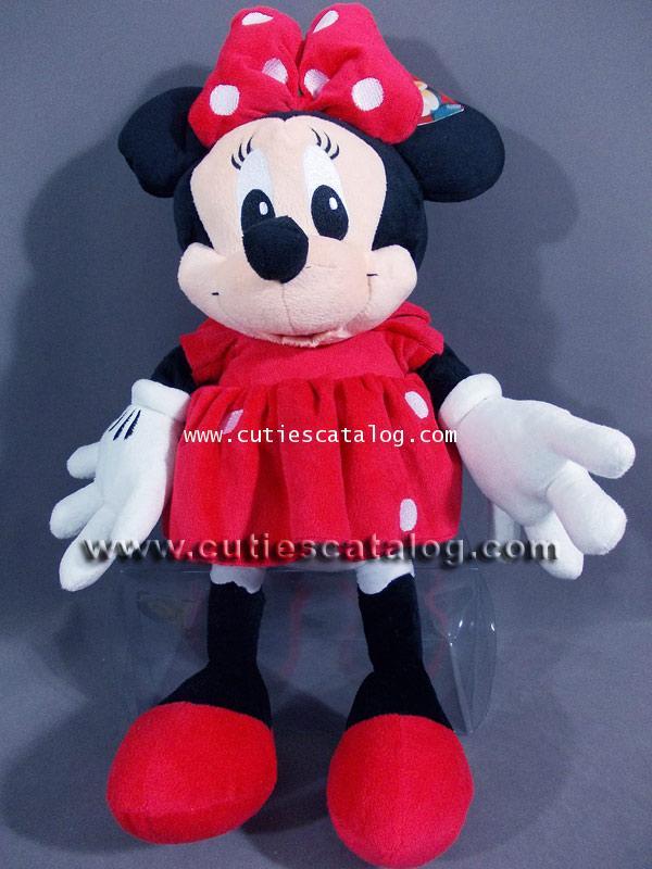 ตุ๊กตามินนี่ เมาส์ Minnie mouse ขนาด M