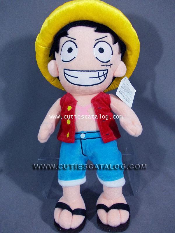 ตุ๊กตาลูฟี่ แบบยืน ขนาด L ตุ๊กตาลูฟี่ Luffy @ จากเรื่องวันพีช One Piece