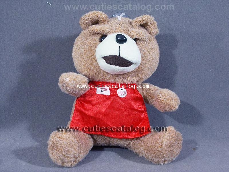 ตุ๊กตาหมี เท็ด ted @ เท็ด หมีไม่แอ็บ แสบได้อีก ted ขนาด S