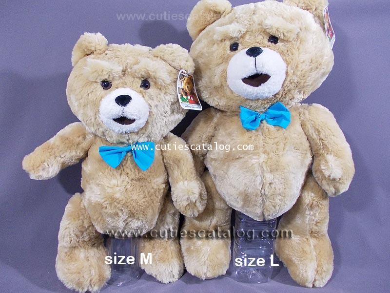 ตุ๊กตาหมี เท็ด ted @ เท็ด หมีไม่แอ็บ แสบได้อีก ted ขนาด M