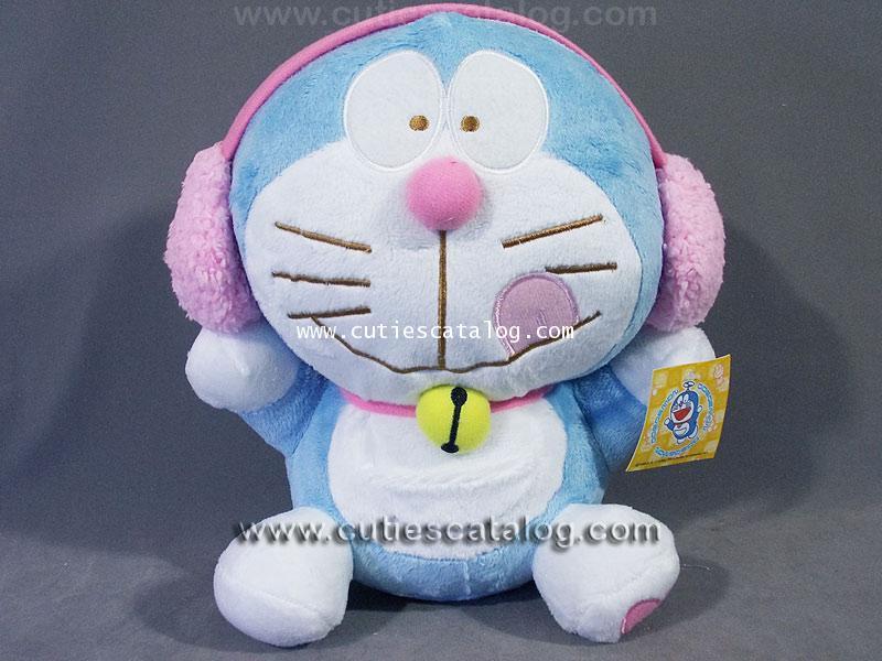 ตุ๊กตาโดเรมอน (Doraemon doll) ชุดแฟนซี แบบฟังเพลง