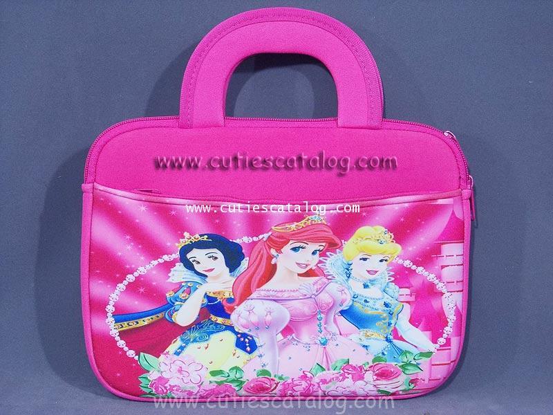 กระเป๋าใส่แท็บเล็ตเจ้าหญิง Princess Tablet case กระเป๋าใส่ไอแพดเจ้าหญิง Princess ipad case แบบนิ่ม