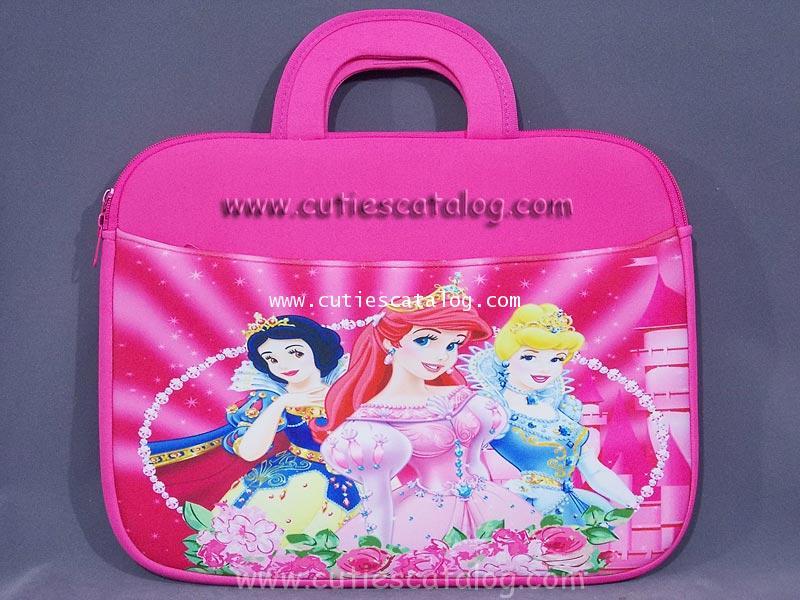 กระเป๋าโน๊ตบุ๊คเจ้าหญิง / ซอฟท์เคสเจ้าหญิง Princess Notebook case