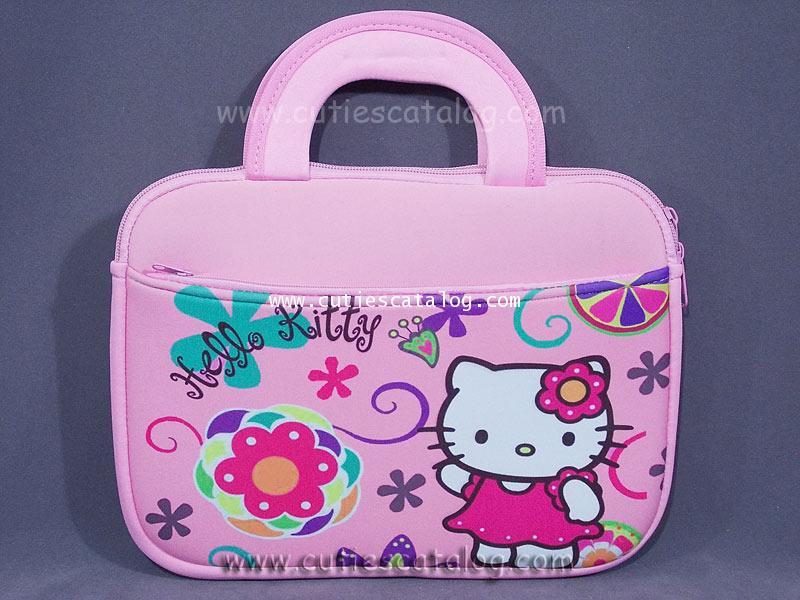 กระเป๋าใส่แท็บเล็ตคิตตี้ Kitty Tablet case กระเป๋าใส่ไอแพดคิตตี้ Kitty ipad case แบบนิ่ม