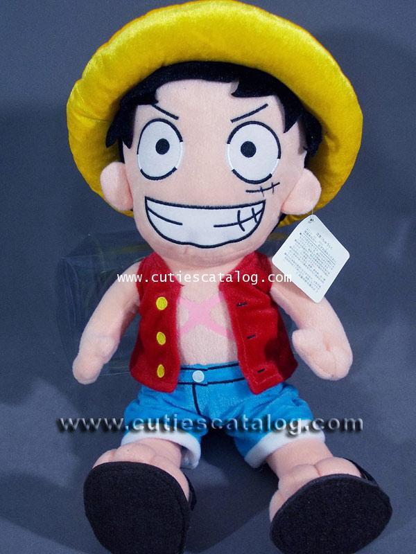 ตุ๊กตาลูฟี่ แบบยืน ขนาด XL ตุ๊กตาลูฟี่ Luffy @ จากเรื่องวันพีช One Piece