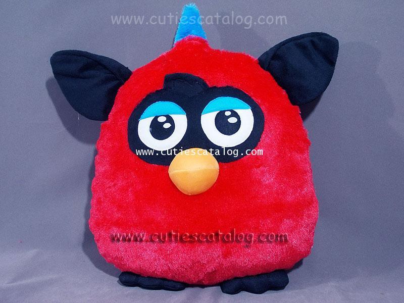 หมอนอิง / พิง เฟอร์บี้ Furby cushion สีแดง