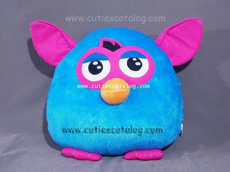 หมอนอิง / พิง เฟอร์บี้ Furby cushion สีฟ้า