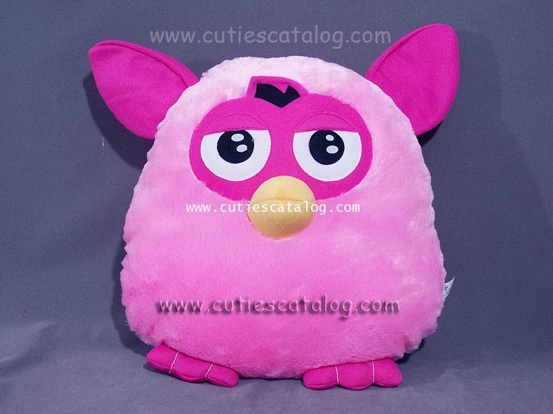 หมอนอิง / พิง เฟอร์บี้ Furby cushion สีชมพู