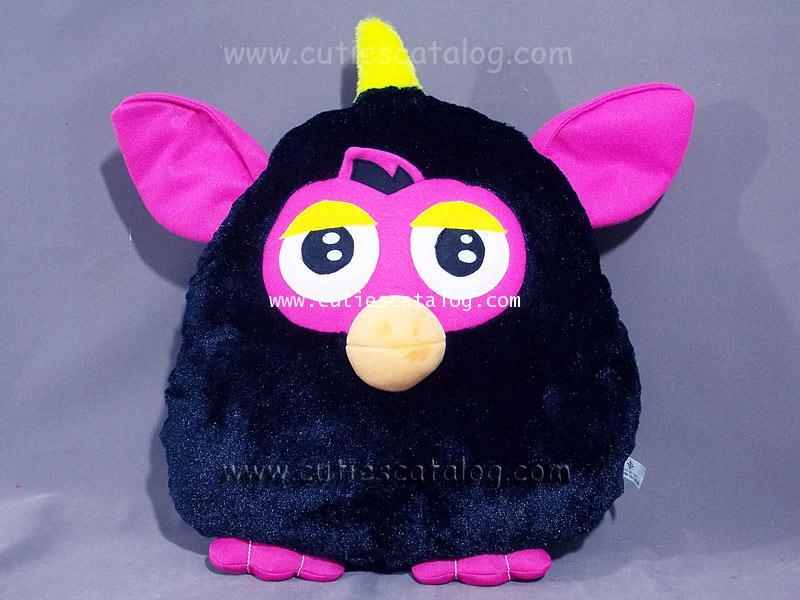 หมอนอิง / พิง เฟอร์บี้ Furby cushion สีดำ