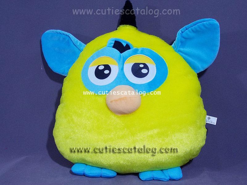 หมอนอิง / พิง เฟอร์บี้ Furby cushion สีเหลือง