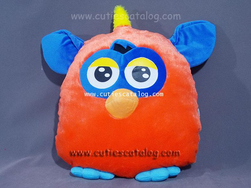 หมอนอิง / พิง เฟอร์บี้ Furby cushion สีส้ม