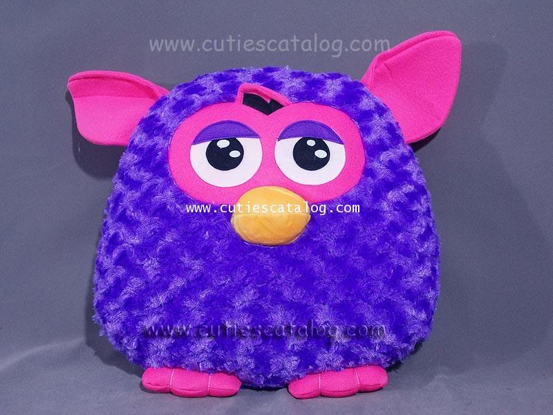 หมอนอิง / พิง เฟอร์บี้ Furby cushion สีม่วง
