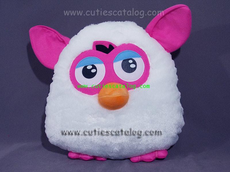 หมอนอิง / พิง เฟอร์บี้ Furby cushion สีขาว